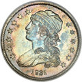 Bust Quarters, 1831 25C Large Letters, B-5, FS-301, R.3, MS63 NGC. CAC....