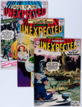 Silver Age (1956-1969):Horror, Tales of the Unexpected Group (DC, 1957-58) Condition: AverageFN.... (Total: 5 Comic Books)