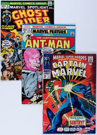 Mighty Marvel Bronze Age Blow-Out Boxes Lot (Marvel, 1970s) Condition: Average VF.... (Total: 2 Items)