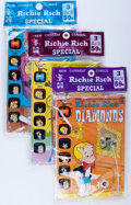 Bronze Age (1970-1979):Humor, Richie Rich Polybagged Sets File Copies Box Lot (Harvey, 1972-75)Condition: Average NM-....