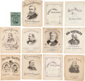 Political:Small Paper (pre-1896), Rutherford B. Hayes et al: Sheet Music and Songster....