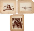 Photography:Official Photos, U. S. S. Maine: Three Mounted Photographs. ...