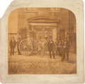 Photography:Official Photos, Early Fire Fighting: Large Mounted Albumen. ...