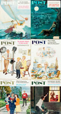 Books:Periodicals, [Periodicals]. Ben Hibbs, editor. Extensive Collection of 136Saturday Evening Post Issues. Philadelphia: Curtis...(Total: 136 Items)
