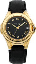 "Timepieces:Wristwatch, Patek Philippe Ref. 5090J ""Sculpture"" 18k Gold Russian Market Automatic, circa 2000. ..."
