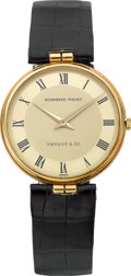 Timepieces:Wristwatch, Audemars Piguet Fine Gold Watch For Tiffany & Co., circa1970's. ...