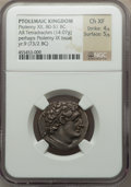 Ancients:Greek, Ancients: PTOLEMAIC KINGDOM. Ptolemy IX (116/5-81/0 BC). ARtetradrachm (14.07 gm)....