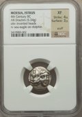 Ancients:Greek, Ancients: MOESIA. Istrus. Ca. 4th Century BC. AR Drachm (5.34gm)....