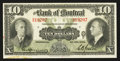 Canadian Currency: , Montreal, PQ - The Bank of Montreal $10 Jan. 3, 1938 Ch. #505-62-04. ...