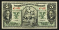 Canadian Currency: , Montreal, PQ - Banque Canadienne Nationale $5 Jan. 2, 1935 Ch. # 85-14-02. ...