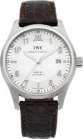 Timepieces:Wristwatch, IWC Mark XVI Pilot Spitfire Ref. 3255 Steel Automatic. ...