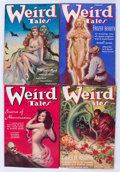 Pulps:Horror, Weird Tales Group (Popular Fiction, 1938) Condition: AverageFN+.... (Total: 6 Comic Books)