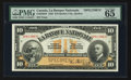Canadian Currency: , Quebec City, PQ - La Banque Nationale $10 Nov. 2, 1922 Ch. 510-22-04S Specimen. ...