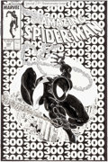 Original Comic Art:Covers, Todd McFarlane Amazing Spider-Man #300 Cover Original Art(Marvel, 1988)....