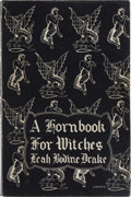 Books:Horror & Supernatural, Leah Bodine Drake. A Hornbook for Witches. Poems of Fantasy. Sauk City: Arkham House, 1950. First edition, one o...