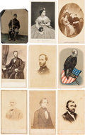 Political:Small Paper (pre-1896), Abraham Lincoln et al: CDV's and Tintype....