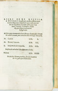 Books:Food & Wine, [Featured Lot] [Scriptores Rustica-Roman Agricultural Authors]Cato; Varro; Columella;Leto and Palladius. Libri ...