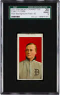 Baseball Cards:Singles (Pre-1930), 1909-11 T206 Piedmont Ty Cobb, Red Portrait SGC 30 Good 2 - Name AtTop/Bottom. ...