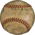 Autographs:Baseballs, 1948 Babe Ruth, Joe DiMaggio, Ted Williams, Stan Musial & Others Multi Signed Baseball....