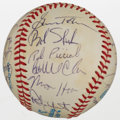 Autographs:Baseballs, 1983 Milwaukee Brewers Team Signed Baseball....