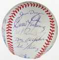 Autographs:Baseballs, 1983 Baltimore Orioles World Champions Team Signed Baseball....