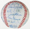 Autographs:Baseballs, 1983 Detroit Tigers Team Signed Baseball....