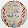 Autographs:Baseballs, 1983 Boston Red Sox Team Signed Baseball....