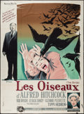 "Movie Posters:Hitchcock, The Birds (Universal, 1963). French Grande (47"" X 63""). Hitchcock....."