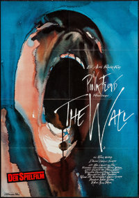 "Pink Floyd: The Wall (Constantin Film, 1982). German A1 (23.25"" X 33""). Rock and Roll"