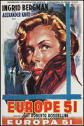 """Movie Posters:Foreign, The Greatest Love (Les Acacias Cine Audience, R-1990s). French Affiche (31.5"""" X 47""""). Foreign. Original Italian Title: Eur..."""