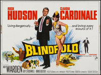 "Blindfold (Universal, 1966). British Quad (30"" X 40""). Thriller"