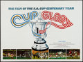 "Movie Posters:Documentary, Cup Glory (Hemdale, 1972). British Quad (30"" X 40""). Documentary.. ..."