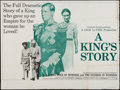 "Movie Posters:Documentary, A King's Story (British Lion, 1965). British Quad (29.75"" X 39.75""). Documentary.. ..."