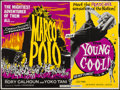 "Movie Posters:Adventure, Marco Polo/The Young and the Cool Combo (Anglo Amalgamated,R-1963). British Quad (29.75"" X 40""). Adventure.. ..."