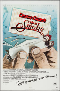"Up in Smoke (Paramount, 1978). One Sheet (27"" X 41""). Comedy"
