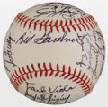 Autographs:Baseballs, 1983 Minnesota Twins Team Signed Baseball....