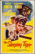 """Movie Posters:Drama, The Sleeping Tiger (Astor Pictures, 1954). One Sheet (27"""" X 41""""). Drama.. ..."""
