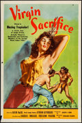 """Movie Posters:Adventure, Virgin Sacrifice (Releasing Corporation of Independent Producers,1959). One Sheet (27"""" X 41""""), Title Lobby Card, & Lobby Ca...(Total: 3 Items)"""
