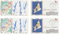 Baseball Collectibles:Others, 1979-82 Mickey Mantle & Others Signed First Day Covers Lot of4. ...