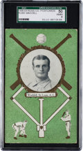 Baseball Cards:Singles (Pre-1930), 1908/09 Rose Co. Rube Waddell SGC 50 VG/EX 4 - Only Two Examples onRecord! ...
