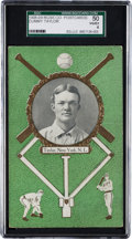 Baseball Cards:Singles (Pre-1930), 1908/09 Rose Co. Dummy Taylor SGC 50 VG/EX 4 - Only Two On Record!...