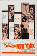 """Movie Posters:Documentary, Only One New York (Embassy, 1964). One Sheet (27"""" X 41"""") & Lobby Cards (4) (11"""" X 14""""). Documentary.. ... (Total: 5 Items)"""