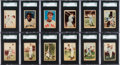 Baseball Cards:Sets, 1952 Berk Ross Baseball Complete Set (72). ...