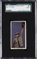 Baseball Cards:Singles (Pre-1930), 1911 E94 Close Candy Ty Cobb, Violet SGC Authentic. ...