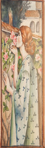 Books:Fine Press & Book Arts, [Fore-Edge Paintings]. Maurice Maeterlinck. Life andFlowers. London: George Allen, 1907. First English edition oft...