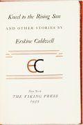 Books:Literature 1900-up, Erskine Caldwell. SIGNED/LIMITED. Kneel to the Rising Sun.New York: Viking, 1935. First edition, limited to 300 num...