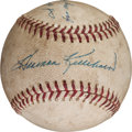 Autographs:Baseballs, 1969 Harmon Killebrew 31st Home Run & 100th RBI of SeasonBaseball....