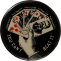 Political:Pinback Buttons (1896-present), Theodore Roosevelt: Ultra Rare Variation of Stand Pat Button....