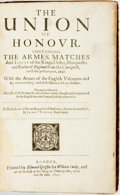 Books:World History, Yorke, James. The Union of Honour. Containing The Armes, MatchesAnd Issues of the Kings, Dukes, Marquesses and ...