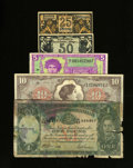 Military Payment Certificates:Series 641, Series 641 $10 Very Fine. ... (Total: 5 notes)